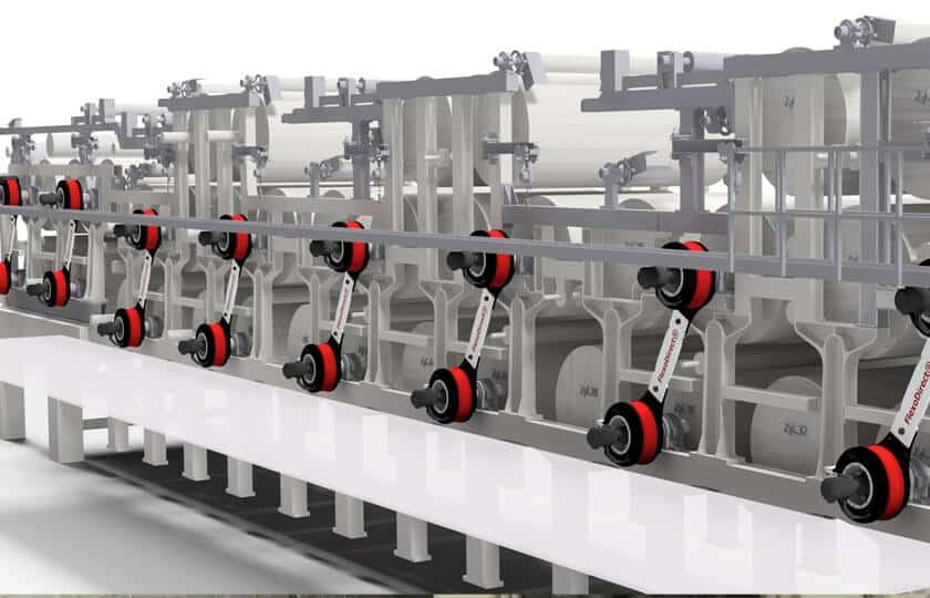 Abb 3 3D-Modell der KM3 mit den FlexoDirect® Direktmotore 840x500